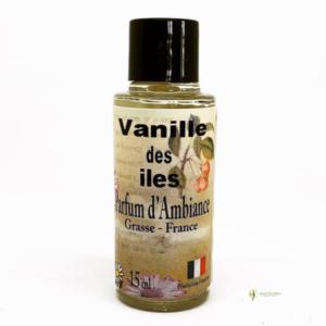 parfum d'ambiance vanille