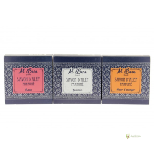 Coffret 3 savons d'Alep parfumés