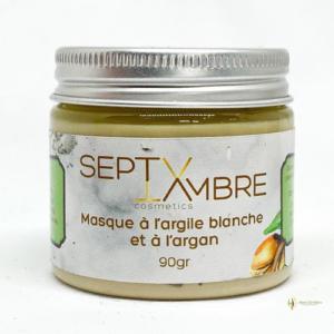 masque argile blanche argan