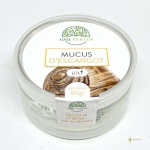 mucus bave d'escargot